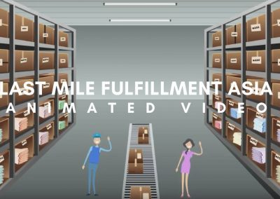 Infographics Video – Last Mile Fulfillment Asia