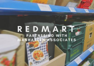 Red Mart – Partnering with Manhattan Associates