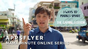 AppsFlyer – MAMA Minute Online Series (Chris)