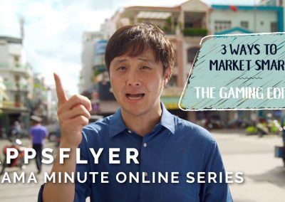 AppsFlyer – MAMA Minute Online Series (Chris)