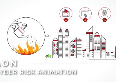 Aon – Cyber Risk Animation