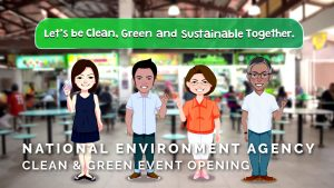 National Environment of Singapore – Clean & Green Event Opening