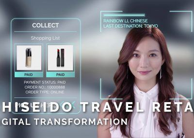 Shiseido Travel Retail – Digital Transformation