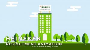 Heineken Recruitment Animation