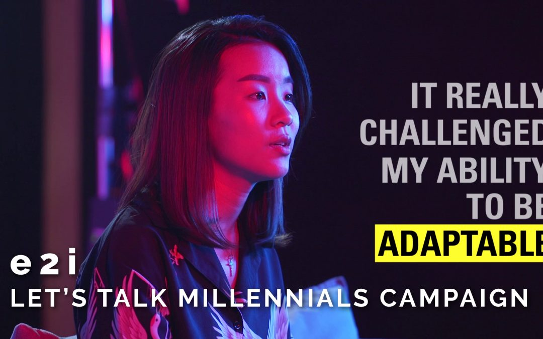 e2i – Let's Talk Millennials Campaign (Kimberly)